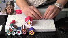 Fiori - Polymer Clay Tutorials - How to make a flower cane
