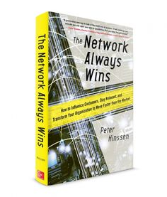 Great book by Peter Hinssen; The Network Always Wins, 2015