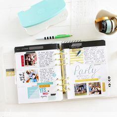 Heidi Swapp Memory Planner and Minc Planner Dashboard, Heidi Swapp, Planners, Free Printables, Journaling, Scrapbooking, Memories, How To Plan, Digital
