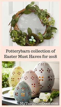 Potterybarn collection of Must Haves for 2018 #affiliate