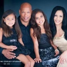 Asia Money Ray her sister Bella Blu Ray and their parents.