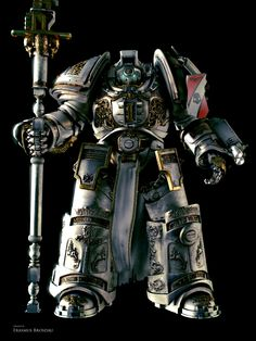 """Grey Knight Terminator from the upcoming fan-made """"The Lord Inquisitor"""" 3D film."""