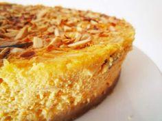 Receita Sobremesa : Cheesecake de abóbora e amêndoa de Nuit