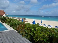 view from Villa 1  Meads Bay Beach Villas      Anguilla