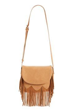 Sole Society 'Kerry' Fringe Crossbody Bag