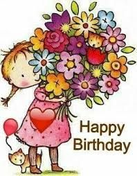 Happy Birthday Images Image · ☆ · · ·-𝔦𝔱-𝔶𝔬𝔲𝔯𝔰𝔢𝔩𝔣 ℑ𝔡𝔢𝔢𝔫🎀 Happy Birthday Wishes Cards, Birthday Blessings, Happy Birthday Quotes, Birthday Fun, Cute Happy Birthday Pictures, Happy Birthday Dear Friend, Birthday Wishes Girl, Happy Birthday For Her, Birthday Wishes Flowers
