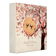 Love Birds Wedding Photo Album 3 Ring Binder  #wedding binders  #photo binders #wedding photo albums   Click on photo to purchase. Check out all current coupon offers and save! http://www.zazzle.com/coupons?rf=238785193994622463&tc=pin
