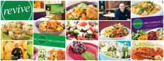 """""""Revive is vegetarian, healthy and full of goodness. Many of our dishes are vegan, dairy free and gluten free"""". Smoothie Recipes, Smoothies, Dairy Free, Gluten Free, New Cookbooks, Delicious Vegan Recipes, Auckland, Vegan Vegetarian, Salads"""