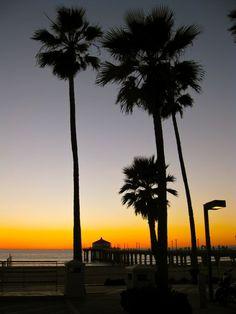 My favorite classic California sunset pic