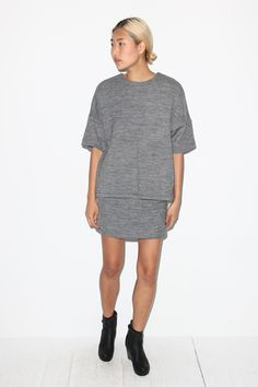 Christian Wijnants Sema Wool Skirt- Now on Sale | No.6 Daily