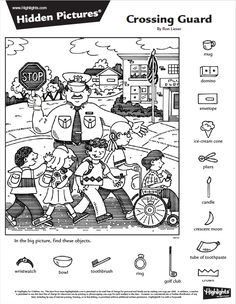 Hidden Picture Games, Hidden Picture Puzzles, Hidden Object Puzzles, Hidden Objects, English Activities, Activities For Kids, Colouring Pages, Coloring Books, Hidden Pictures Printables