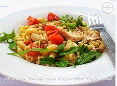 Chicken, Tomato and Mozzarella Pasta Salad