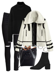 """Holidays"" by camilae97 ❤ liked on Polyvore featuring H&M, Burberry and Mansur Gavriel"