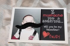 this makes me laugh-- 'I mustache you a question'