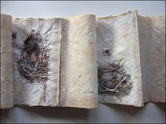 Ties to Home by Sandy Webster http://www.sandywebster.com/ #artists_book #mixed_media