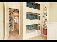 100 Cool Ideas! TRIPLE BUNK BEDS! - YouTube