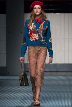 Gucci Fall 2015 Ready-to-Wear Fashion Show
