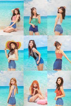 Summer Feels Like Twice Nayeon, K Pop, Kpop Girl Groups, Korean Girl Groups, Kpop Girls, Twice Dahyun, Tzuyu Twice, Kpop Girl Bands, Twice Group