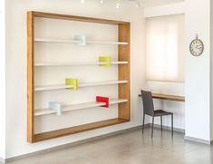 דרור - ספריה ביתית מעוצבת - כוננית ספרים מעוצבת