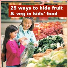 Mums make lists ...: Top tips ... fussy eaters - fruit & veg
