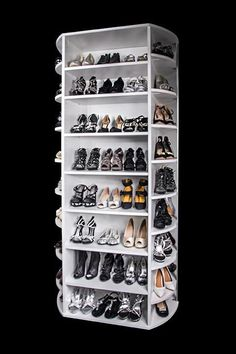 Closet Works Offers The 360 Organizer Shoe Spinner Rotating Shoe Closet    The Ultimate Shoe Closet Organizer Which Includes Closet Shoe Shelf That  Holds Up ...