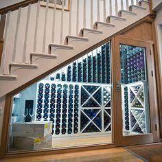 Wine Cellar, Wine Room, WIne Pod and Bespoke Wine Storage design, build and install. We design Custom Wine Cellars and Wine Rooms for Hotels, Restaurants and the home. Bespoke Wine Cellars and Luxury Wine Cellars by the Wine Cellar Experts. Under Stairs Wine Cellar, Wine Cellar Basement, Wine Cellar Racks, Beer Cellar, Stair Storage, Wine Storage, Kitchen Under Stairs, Home Wine Cellars, Wine Cellar Design