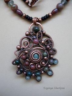 Appelsinium - Seashell Necklace via Etsy.