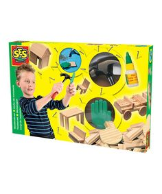 Take a look at this Woodwork Building Set by SES Creative on #zulily today! $25 !!