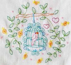 Fun and free embroideries