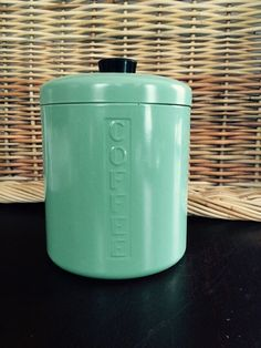 Kromex Coffee Canister: Vintage Retro 1950s by FelixVintageMarket. Pin now & shop later.