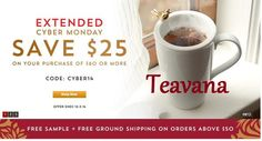 """Tea People? Visit Teavana to get your Cashback on every purchase online. Sign up FREE today at PAID2SHOPONLINE.CA"