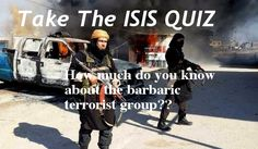 Take the ISIS quiz now only at http://www.newsgame.us/isis-quiz/