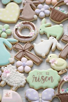 Hosting a Cookie Decorating Party (Easter Cookies) Hosting a Cookie Decorating Party Hi there! Today I'm sharing how to host a cookie decorating party for about adults, including recipes, a time line of sorts, and my top tips. Summer Cookies, Baby Cookies, Valentine Cookies, Iced Cookies, Cute Cookies, Easter Cookies, Royal Icing Cookies, Birthday Cookies, Heart Cookies