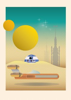 Tatooine Landscape Star Wars