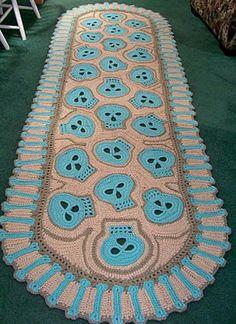 Skullie crochet