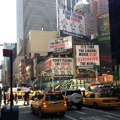 Our Billboards Are Standing TALL over Times Square. Spread the Word!