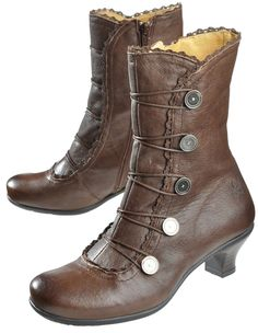 Brako 'Alba', brown - Ankle Boots - Deerberg