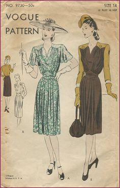 Those shoulder yokes are flattering on any figure! Not to mention that cinch at the natural waist. #classy