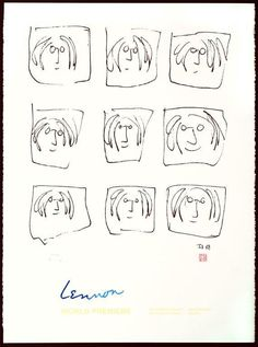 Yoko Ono On John Lennons Forgotten First Love -- Drawing