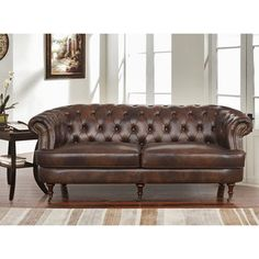 Captivating Shop For Abbyson Montego Top Grain Leather Tufted Sofa. Get Free Shipping  At Overstock. Furniture OutletOnline ...