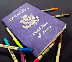 That's either a big passport or some small pens.