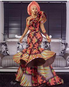 African women dress for prom/African clothing/ Ankara dress/offshoulder dress for bride dress/ African wedding guest Ankara Long Gown Styles, Ankara Styles For Women, Beautiful Ankara Styles, Kente Styles, Ankara Gowns, Beautiful Dresses, Latest African Fashion Dresses, African Dresses For Women, African Print Dresses