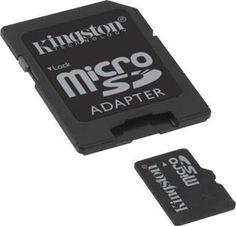 Memoria micro SD 4GB Kingston SDC4/4GB SDCHC class 4 #geek #tecnologia #oferta #regalo #novedades Visita http://www.blogtecnologia.es/producto/memoria-micro-sd-4gb-kingston-sdc44gb-sdchc-class-4