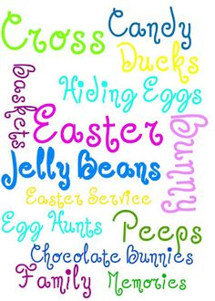 Free Subway Art Printables - Easter and St.  Patrick's Day