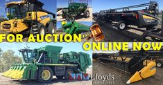 HUGE Agricultural Clearance 🤠 BIG Fleet Opportunities 🌾 Get Ready for HARVEST 🚜 An Amazing 'Ready to Work' Fleet of Agricultural, Transport & Earth-moving Equipment is set to go to Auction midday on March View the catalogue online NOW Earth Moving Equipment, March 21st, Catalog Online, Civilization, Harvest, Transportation, Monster Trucks, To Go, Auction