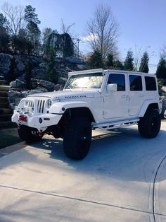 White Jeep interior So swag Silly boys jeeps r4 girls