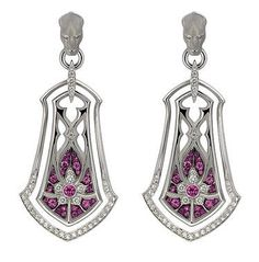 Magerit Vitral Collection Earrings AR1415.14RB