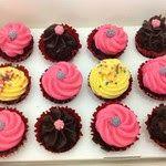 Mini assorted cupcakes