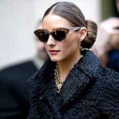 catseye sunglasses...