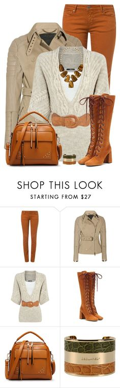 """""""Prada Boots"""" by daiscat ❤ liked on Polyvore featuring CIMARRON, Burberry, Prada, Dsquared2 and Kendra Scott"""